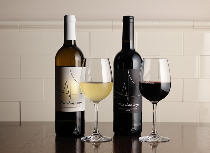ブルーノート東京 赤ワイン、白ワイン